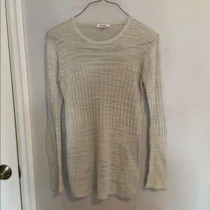 helmut lang sweater sheer